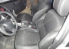 Чохли на сидіння Тойота Ауріс (чохли з екошкіри Toyota Auris стиль Premium)