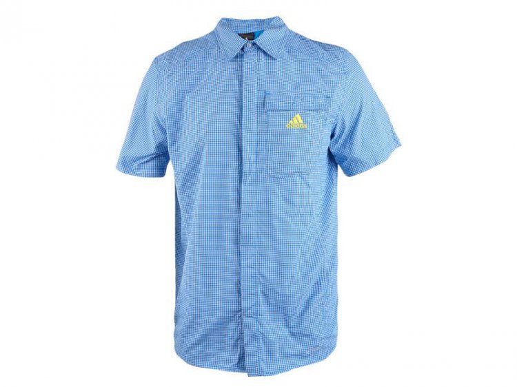 Рубашка мужская adidas Ht Hike Shirt Outdoor z18357 адидас