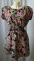 Платье женское легкое летнее яркое красивое New Look р.48 6400а