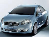 Автомобильные чехлы Fiat Linea 2008 цельная задняя спинка и сиденье, фото 1