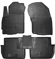 Полиуретановые коврики для Mitsubishi Outlander II (XL) 2006-2012 (AVTO-GUMM)