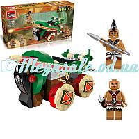 """Конструктор Brick (Брик) Legendary Pirates """"Боевая машина"""": 146 деталей, 2 фигурки"""