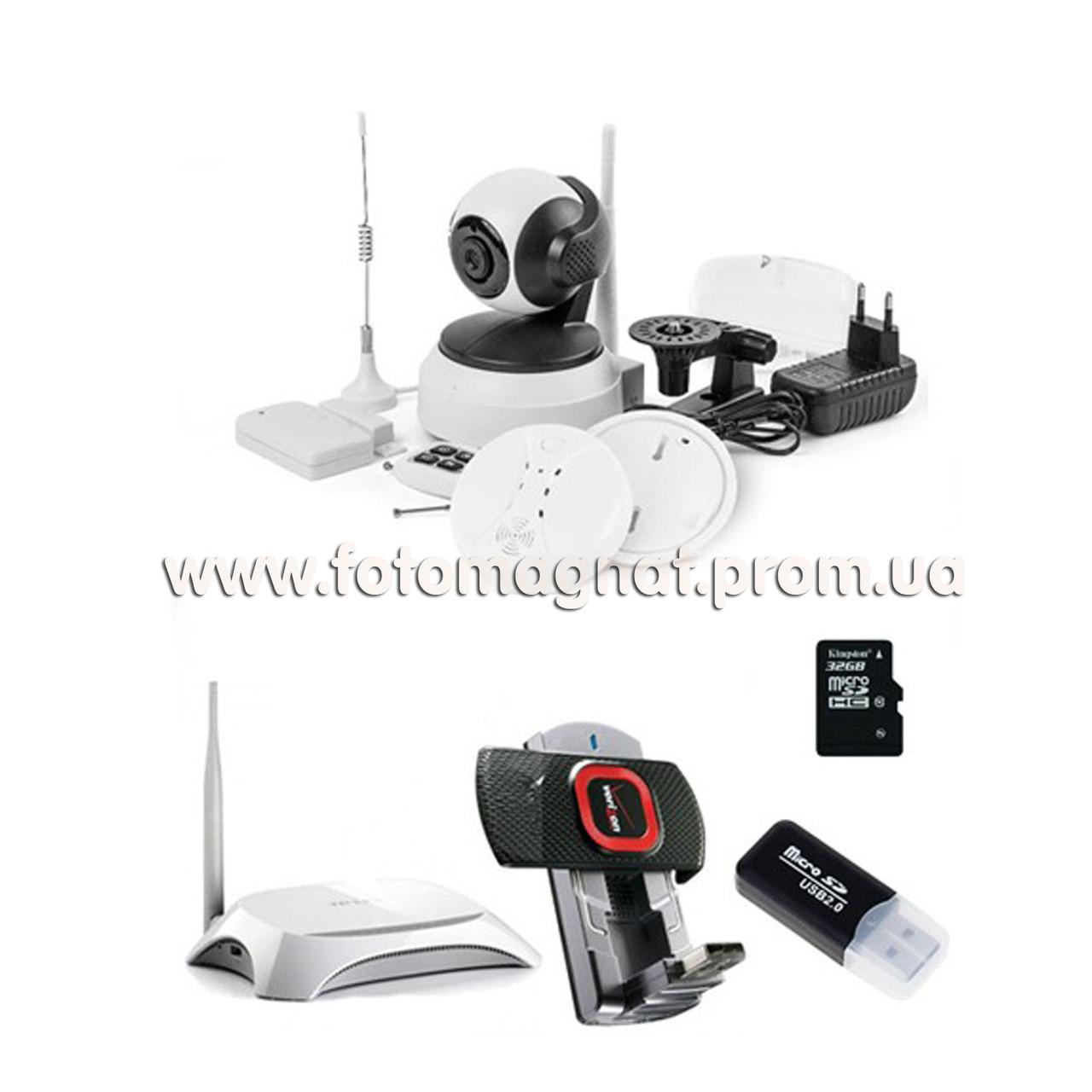 КОМПЛЕКТ 3G сигнализация + видеонаблюдение COLARIX ГУАРД 3G +