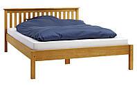 Кровать 140х200см дуб, фото 1