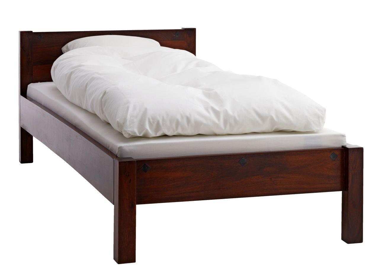 Кровать 90x200см антик (массив акации)
