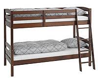 Детская Кровать 2-х ярусная 90x200см (массив ель), фото 1