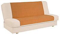 Кровать раскладная 2-х местная тканевая бежевая, фото 1
