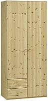 Шкаф 2-х дверный + 2 ящика (цвет сосна), фото 1