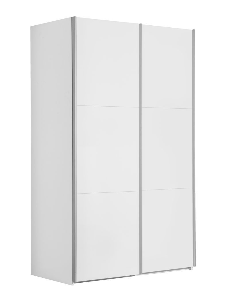 Шкаф купе 2-х дверный белый 120х201см