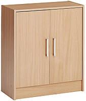 Комод - шкафчик 2-х дверный, цвет бук, фото 1