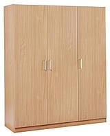 Деревянный 3- х дверный шкаф, фото 1