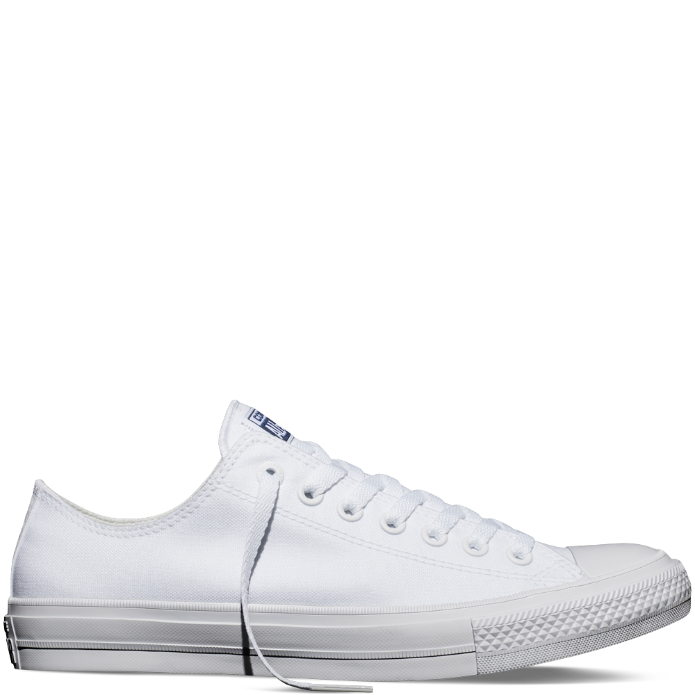 Кеди Converse All Star II Low Chuck Tailor Lunarlon білого кольору