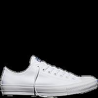 Кеды Converse All Star II Low Chuck Tailor Lunarlon белого цвета