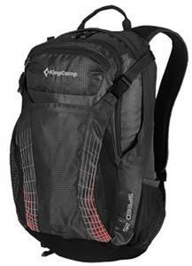 Современный городской рюкзак 25 л. KingCamp полиэстер Speed(KB3312) Black