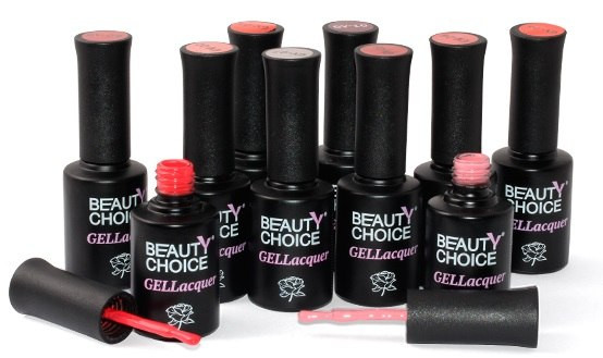 Гель-лаки Beauty Choice цветные купить Харьков