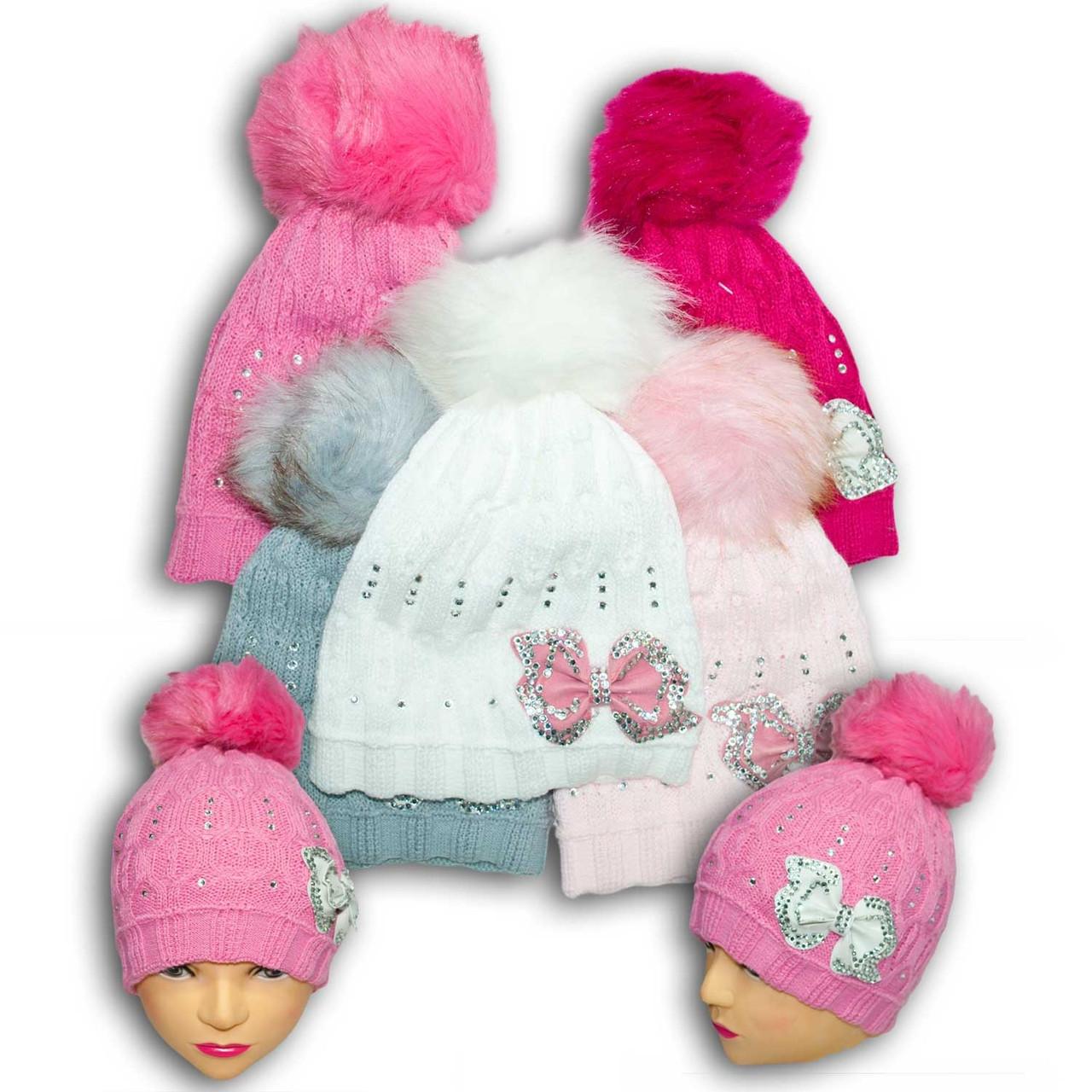 Шапочка для девочек, Польского производителя ANPA, модель B7