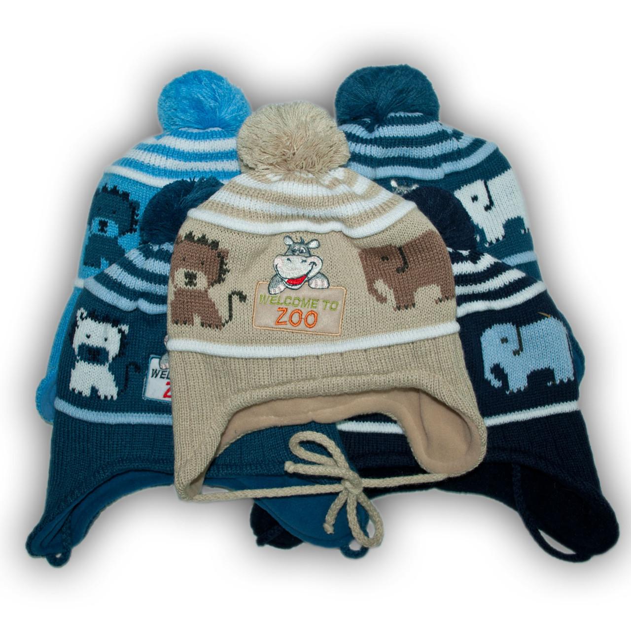 Комплект (шапка + шарф) для мальчиков, Польского производителя Pro - Han, модель CZ-3692/P