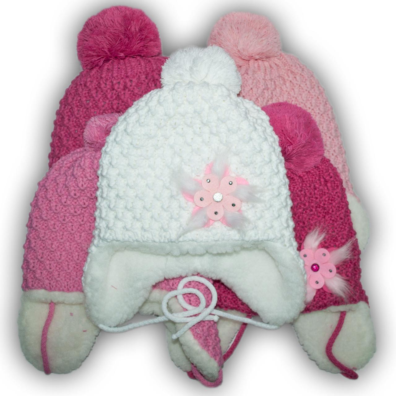 Комплект (шапка + шарф) для девочек, Польского производителя Pro - Han, модель CZ-3720/F