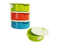 Емкость для хранения продуктов пластиковая QUELLA, 2750 мл, TM Bager