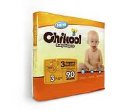 Подгузники CHIKOOL M (7-13 кг) 90 шт