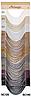 Французские шторы нити с люрексом беж