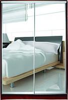 Шкаф купе 2х-дверный Классик с зеркалами, фото 1