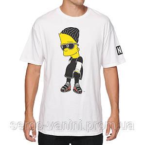 Футболка мужская стильная Neff x The Simpsons Steezy