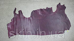 """Натуральная кожа """"Крейзи Хорс"""" для кожгалантереи и обуви фиолетовая, толщина 1.5 мм, арт. СК 2094, фото 2"""