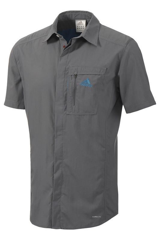 Рубашка мужская adidas HT Wick Shirt Outdoor Z08566 адидас