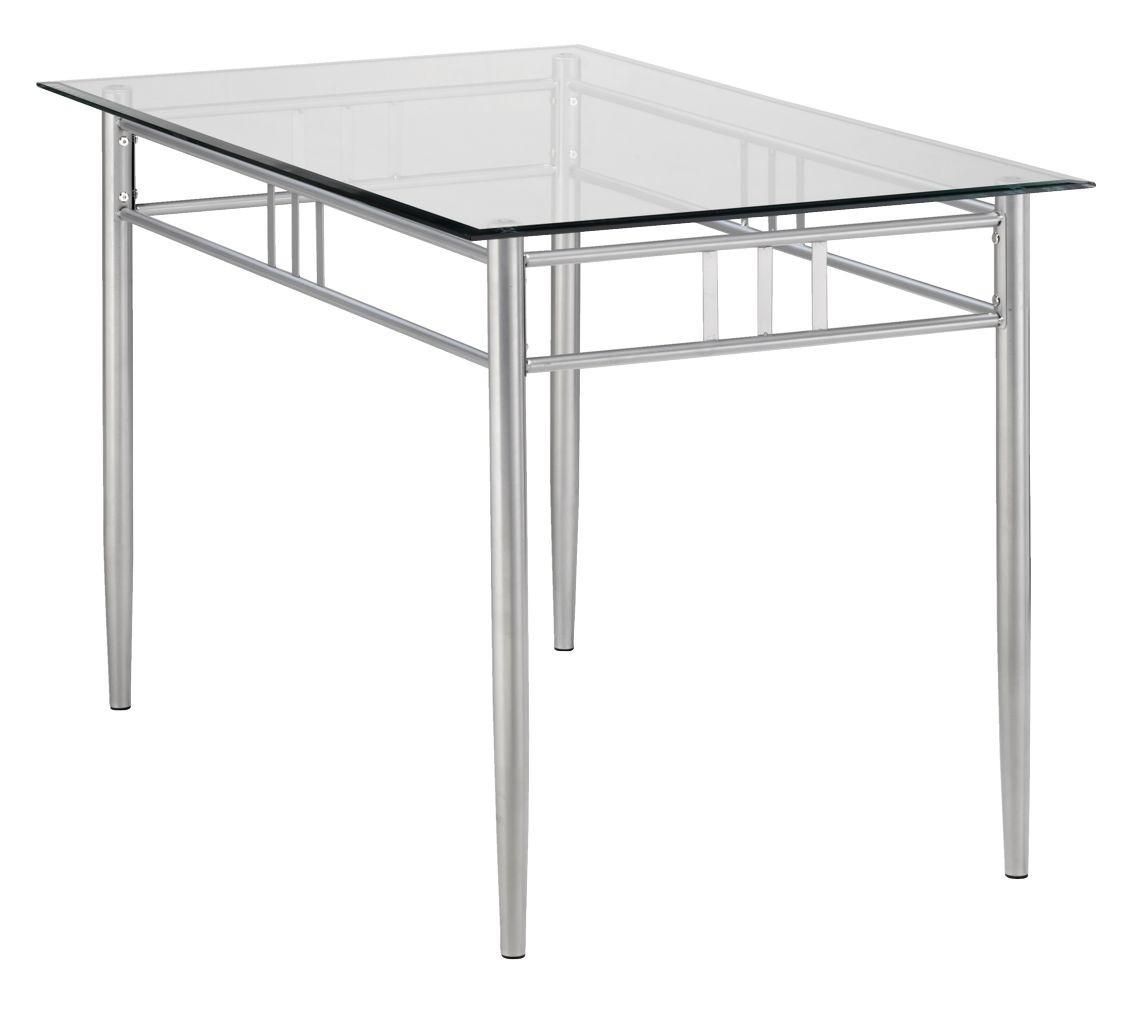 Обеденный стол стеклянный  76х120см