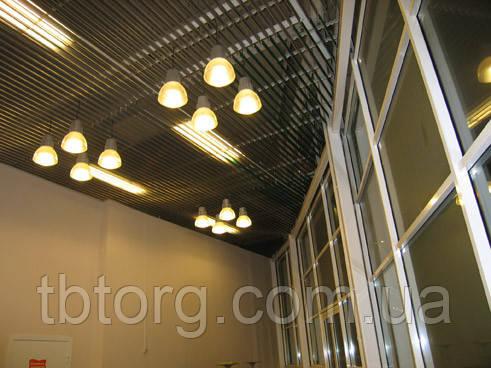 Кубообразный підвісна стеля рейкового типу, фото 2