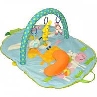 "Развивающий коврик-сумка с дугами ""Веселая ферма"" Biba Toys"