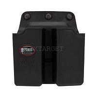 Подсумок Fobus для двух магазинов Glock 17/19, с креплением на ремень
