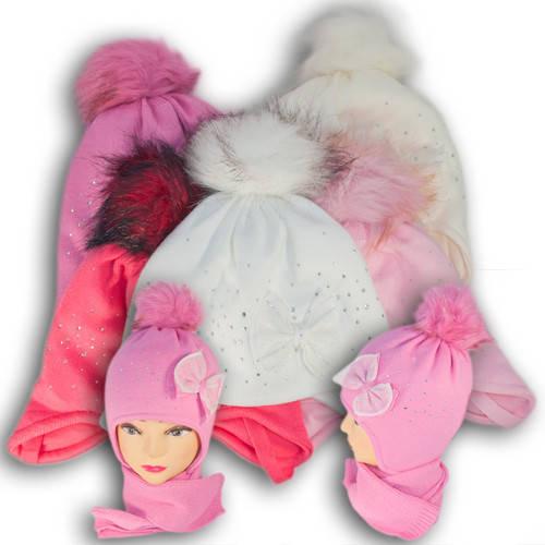 Комплект (шапка + шарф) Польского производителя Ambra с подкладкой ISO SOFT, модель А41