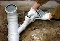 Разводка труб канализации, 1 элемент соединения