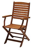 Садовое кресло из хардвуда складное (твердое дерево)