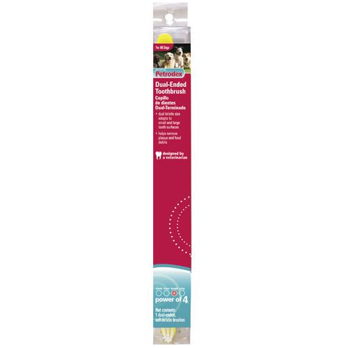 SENTRY Petrodex Soft Bristle СЕНТРИ СОФТ БРИСТЛ мягкая зубная щетка для собак и кошек