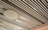 Реечные двухуровневые потолки - кубообразные