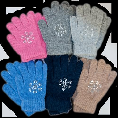 Детские перчатки из шерсти, k014