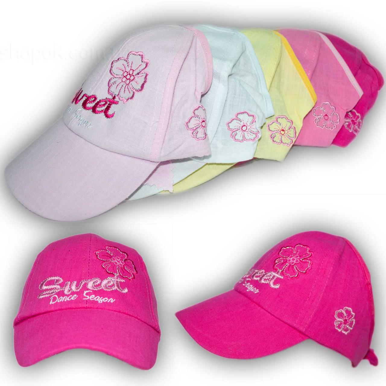 Детские кепки для девочек с открытым верхом, S381