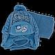 Комплект (шапка + шарф) Польского производителя Ambra с подкладкой флис, модель Am10, фото 2