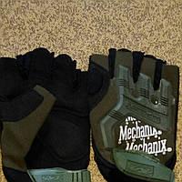 Перчатки тактические Mechanix Mpact, полупалые
