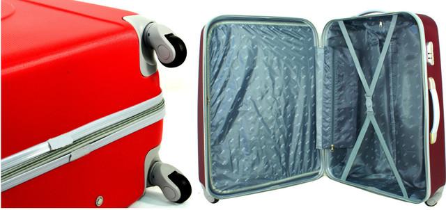 Набір валізу сумок RGL 882 з полікарбонату. 3 в 1
