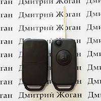 Выкидной ключ для MERCEDES Vito, Sprinter  (Мерседес Вито, Спринтер) корпус 1 - кнопка, лезвие YM15