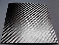 Карбон пленка хром глянцевая с микроканалами