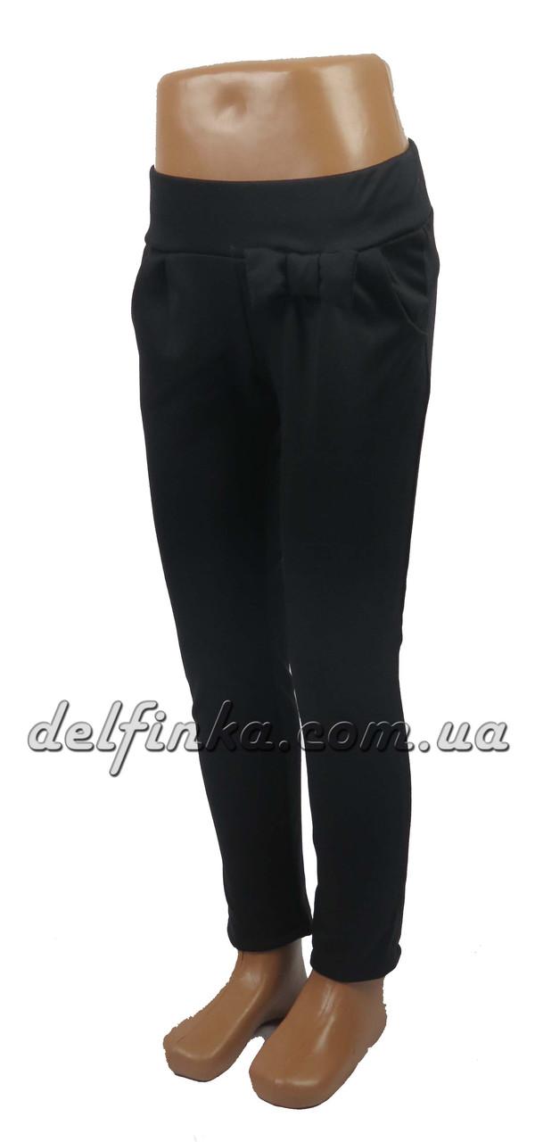 Штаны бантик, 5-8 лет, цвет-черный, фото 1