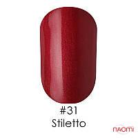 Гель-лак Naomi Gel Polish 31 - Stiletto, 6 мл