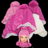 Комплект шапка и шарф, Польского производителя Ambra