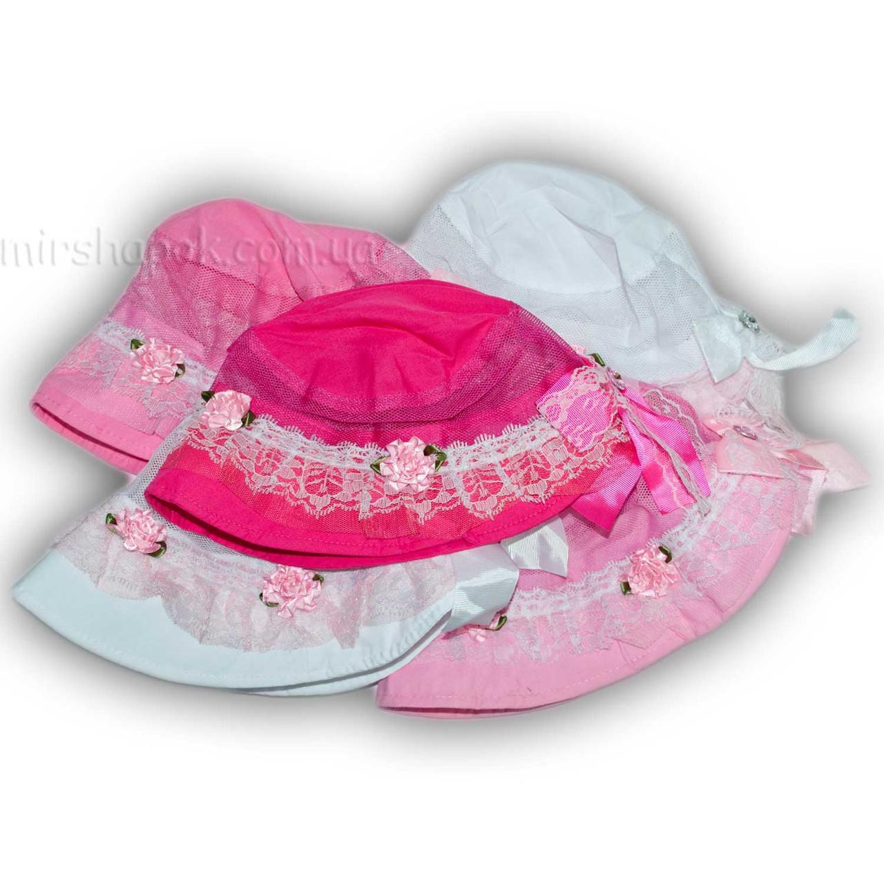 Детские панамки для девочек, S483