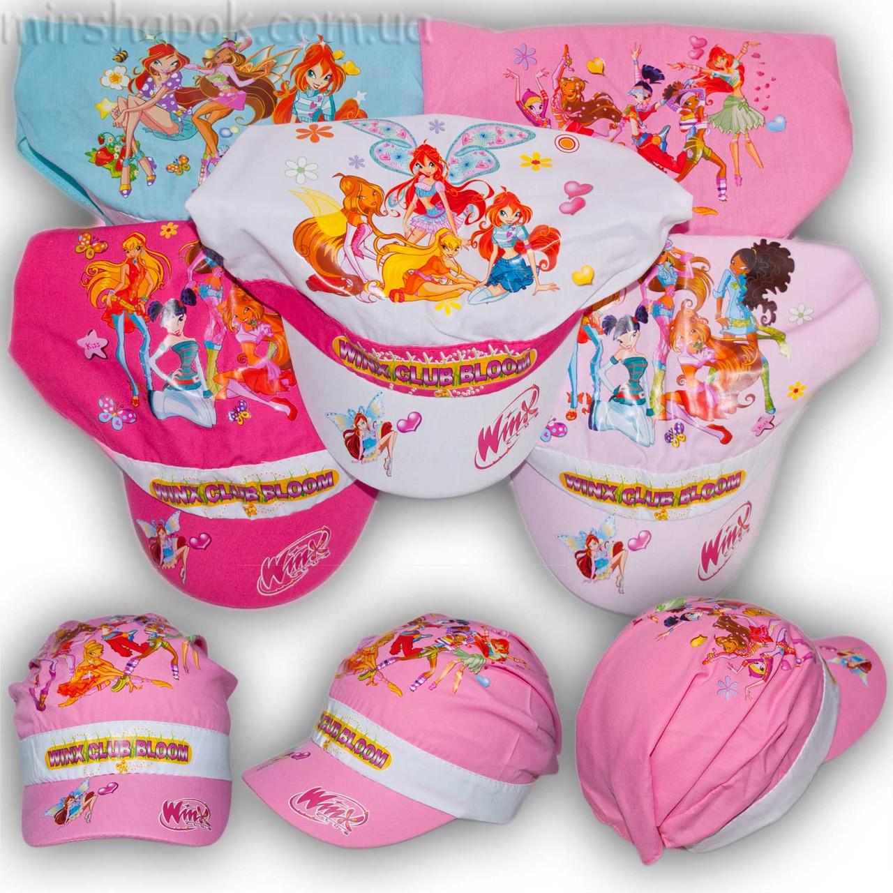 Детские кепки для девочек Winx